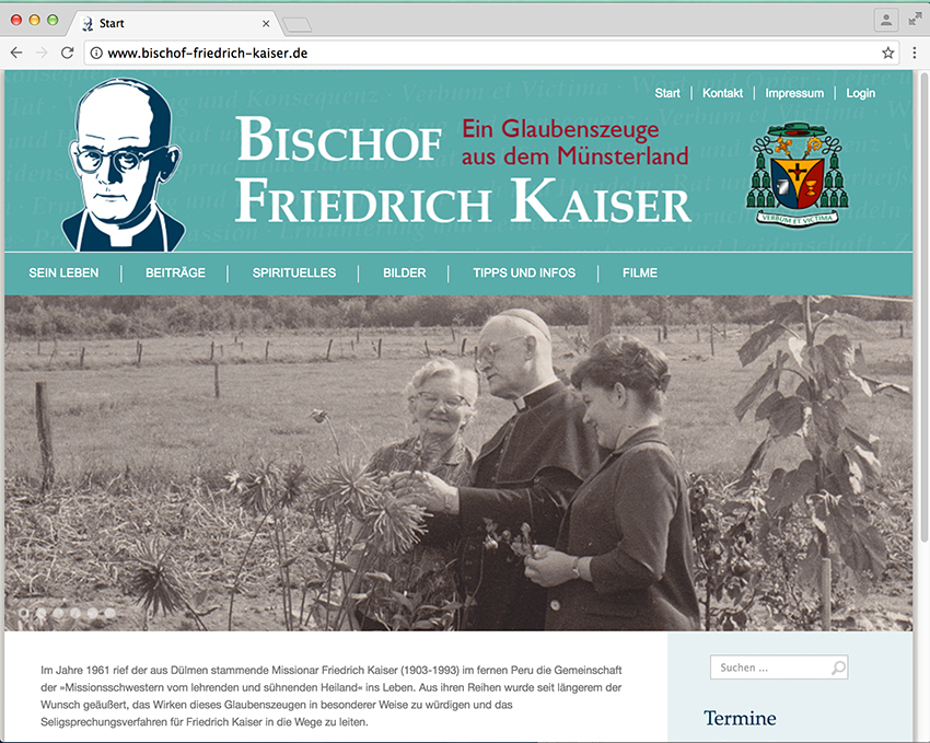 Website Friedrich Kaiser