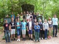 Radtour nach Nimwegen, Sommerferien