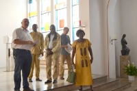 Besuch aus Ghana - Eine-Welt-Projekt St. Mauritius