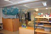 Der St.-Anna-Kindergarten zieht vorübergehend in Container-Module