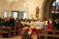 Christkönigsfest und Messdienerneuaufnahme in St. Viktor