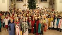 Zentraler Aussendungsgottesdienst der Sternsinger in St. Viktor