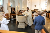 Erstkommunionfeier in St. Mauritius