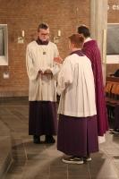 Erster Advent in St. Joseph mit Messdieneraufnahme