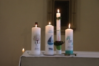 Tauffest im November in St. Agatha