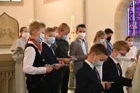 Erstkommunionfeier und Dankgottesdienst in St. Agatha
